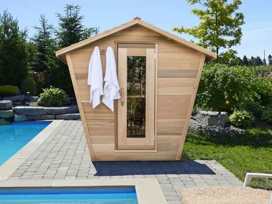 Sauna Cabane Red Cedar -...
