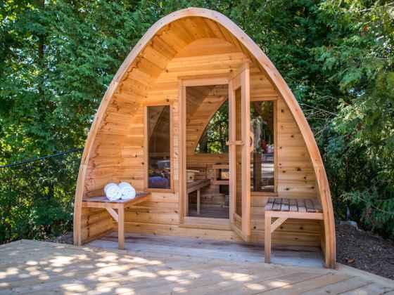 """Sauna Cosse Red Cedar - """"POD"""""""