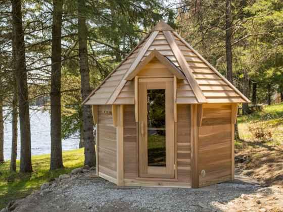 """Sauna Hutte Red Cedar - """"Kota"""""""