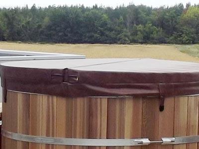 Couverture de protection bain nordique