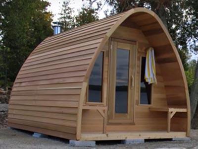 Porche sauna POD